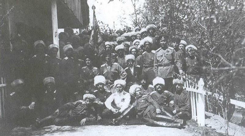 Хопёрский казачий полк. Генерал Врангель и Хопёрская сотня.