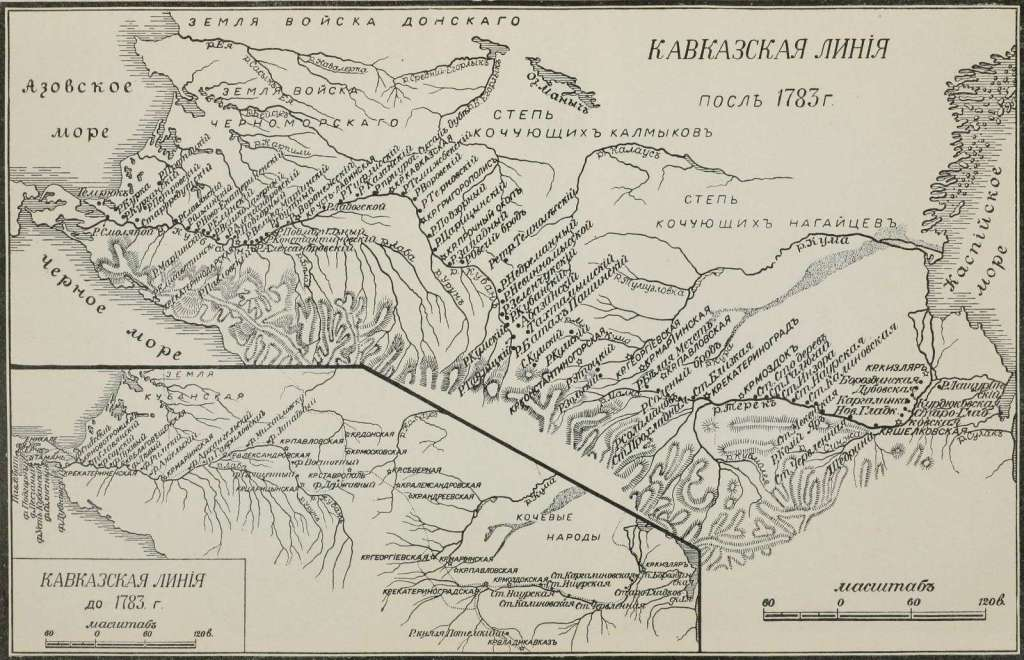 Хопёрский казачий полк. Карта расположения Хопёрского казачьего полка.