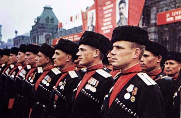 Казаки в Великой Отечественной войне, победа!