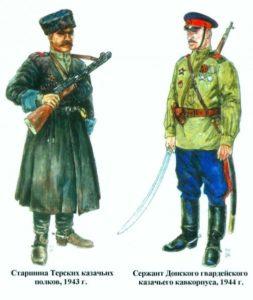 Казаки в Великой Отечественной войне, формирование дивизий.