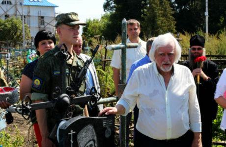 Торжественное открытие памятника Петру Васильевичу Андрееву в Мичуринске.