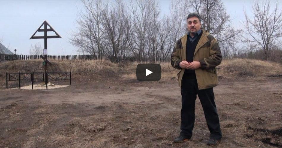 Захоронение Рахманиновых в селе Старая Казинка.