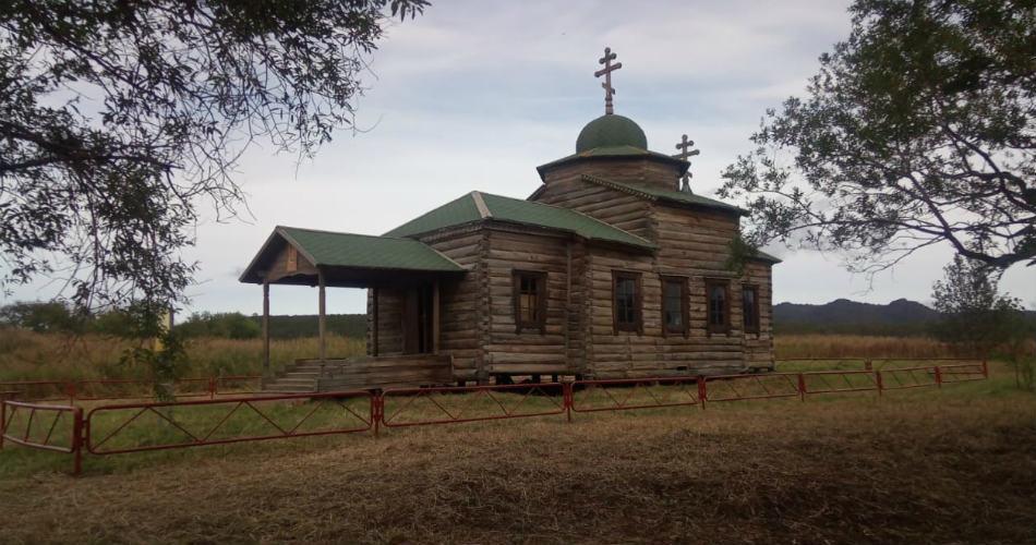 Успенский храм Нижнекамского острога.