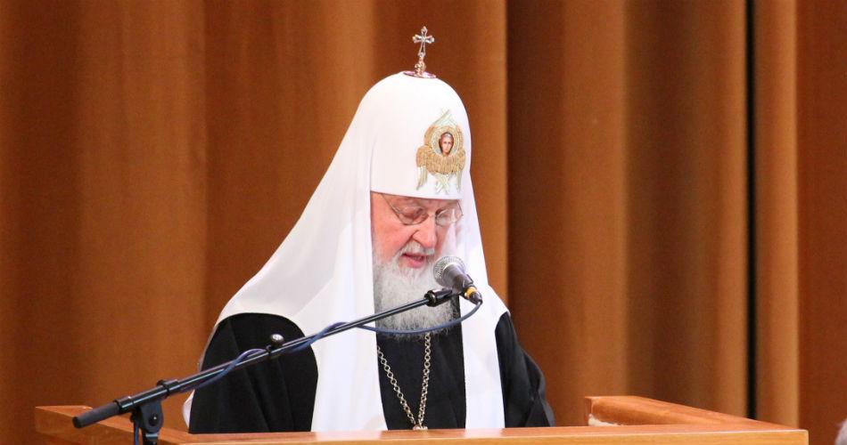 Патриарх Московский и Вся Руси Кирилл против закона о семейно-бытовом насилии.