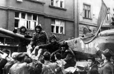 25 марта началась Братиславско-Брновская наступательная операция.