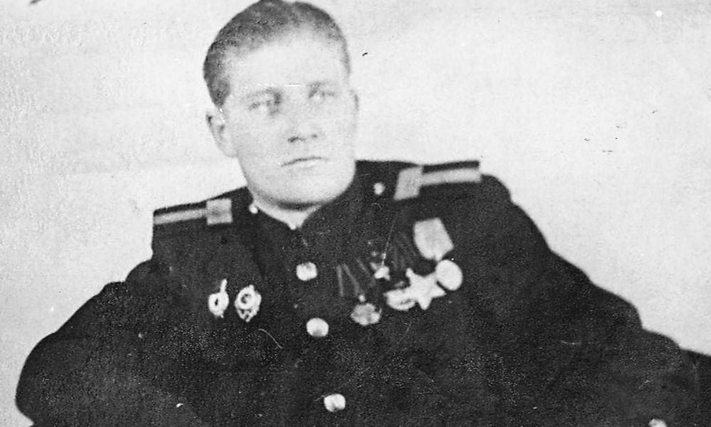 Герой Советского Союза Виктор Иванович Медведев.