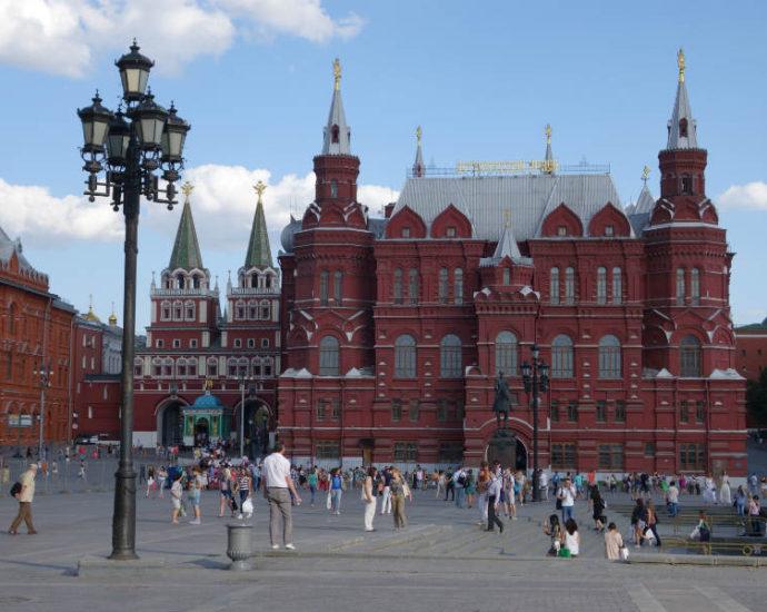 Москва - на стыке культур: Восток и Запад.
