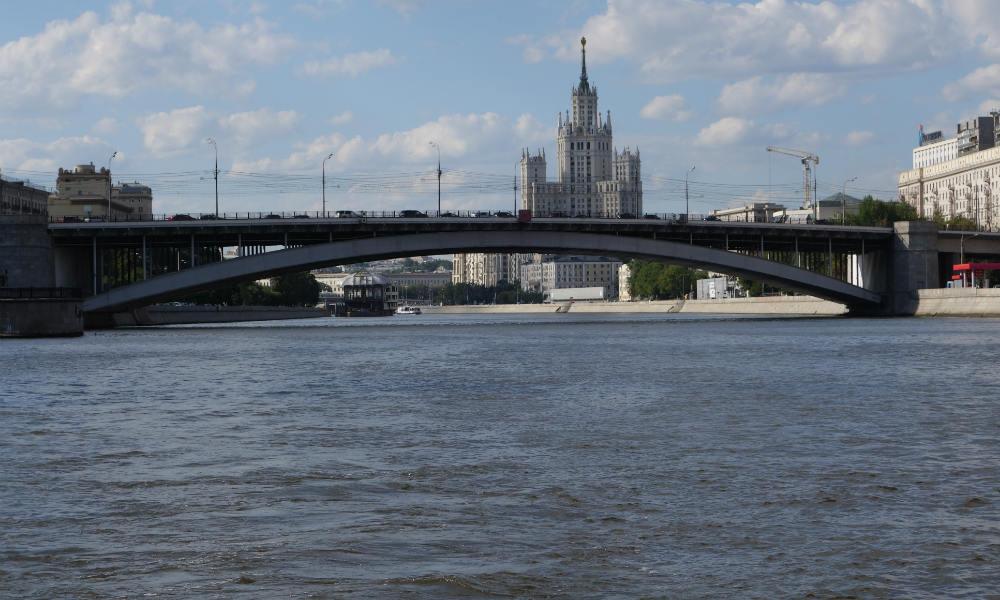 Москва - на стыке культур: Восток и Запад. Москва-река.