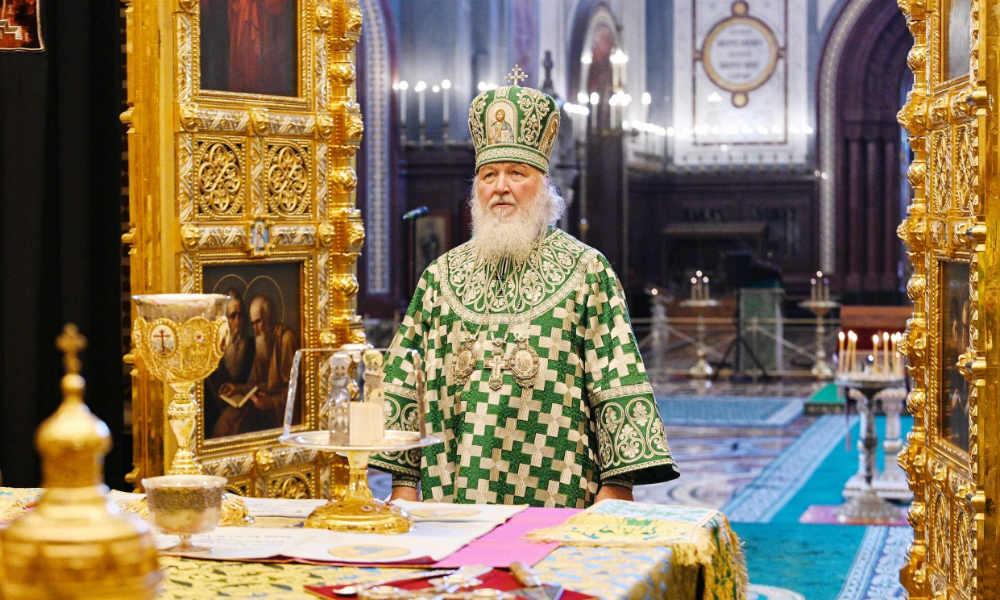 Проповедь Святейшего Патриарха в Вербное Воскресение. Над всеми и над всем Бог!