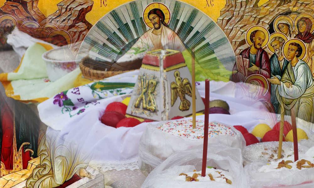 Святая Пасха и как праздновали казаки святое Воскресение.