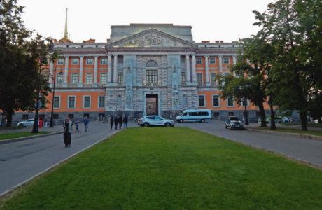 Михайловский замок в Санкт-Петербурге.