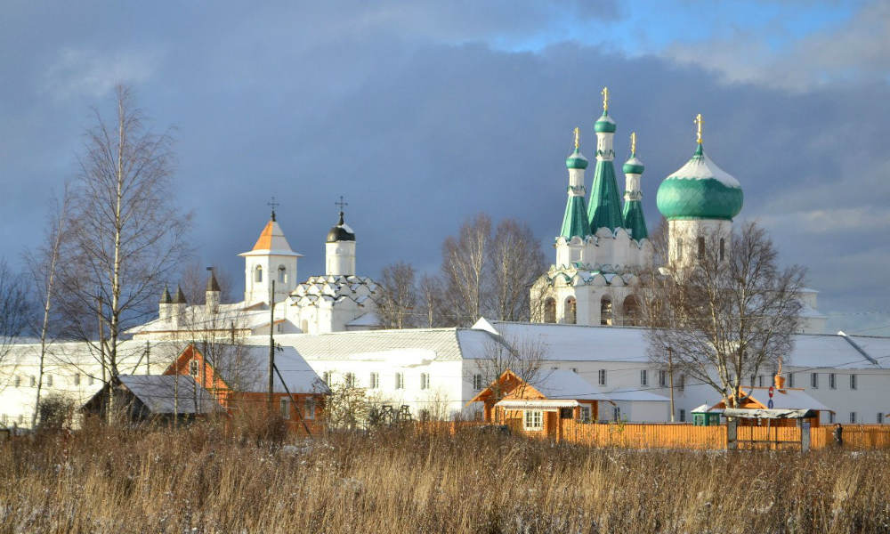 Монастырь Александра Свирского.