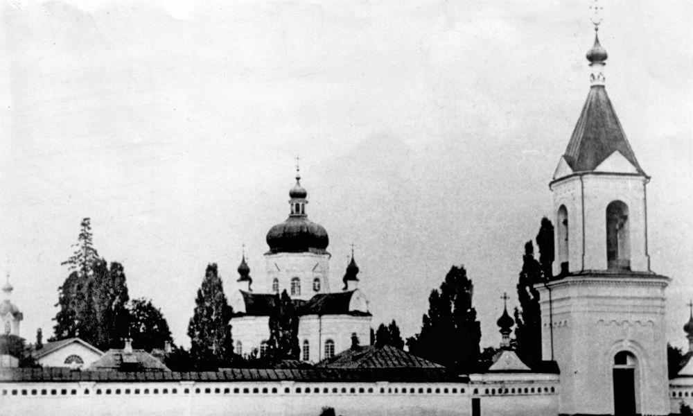 Успенский Каменский монастырь в селе Забрама.