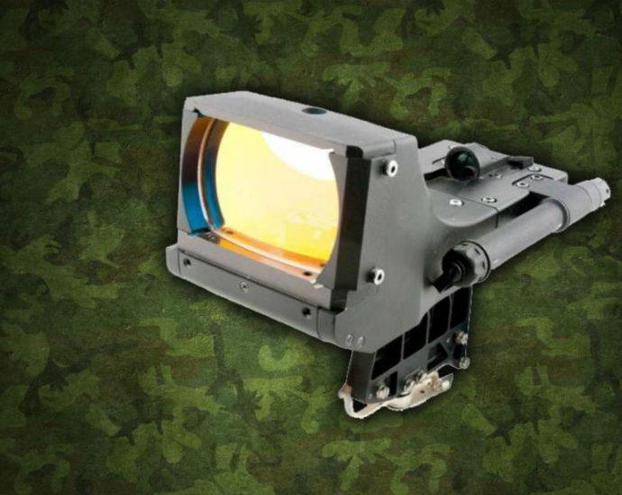В России создан коллиматорный прицел для крупнокалиберных станковых пулемётов 1