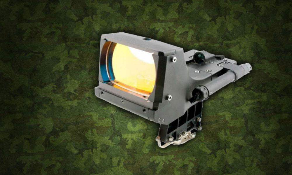 В России создан коллиматорный прицел для крупнокалиберных станковых пулемётов.