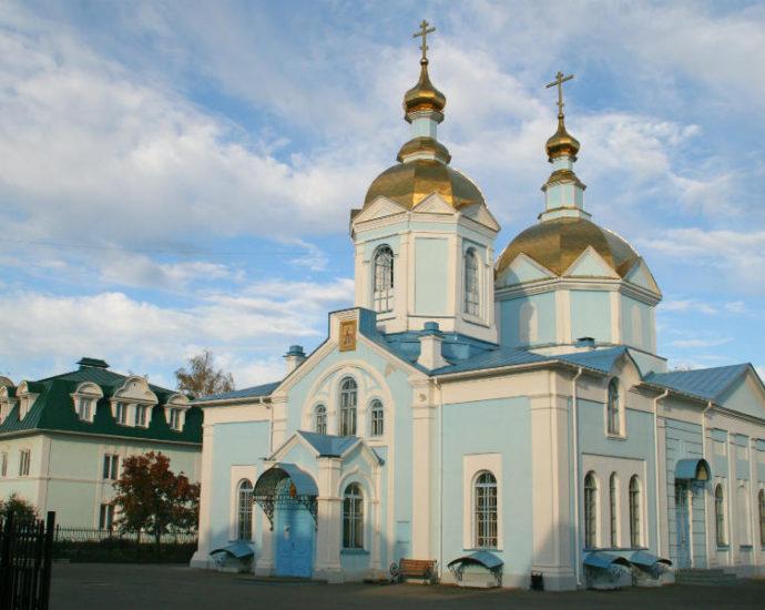 Вознесенский женский монастырь в Тамбове.