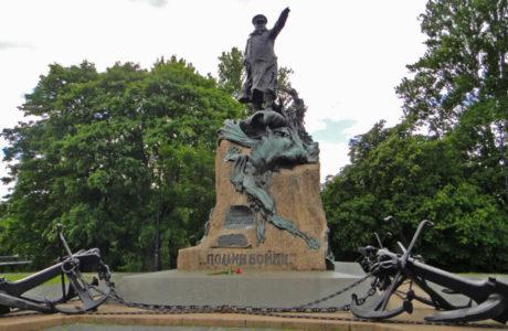 Кронштадт - город на острове Котлин.