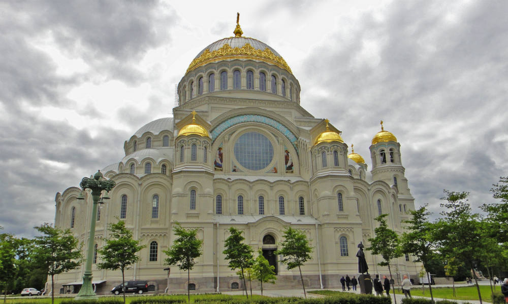 Кронштадт. Морской собор святителя Николая Чудотворца.