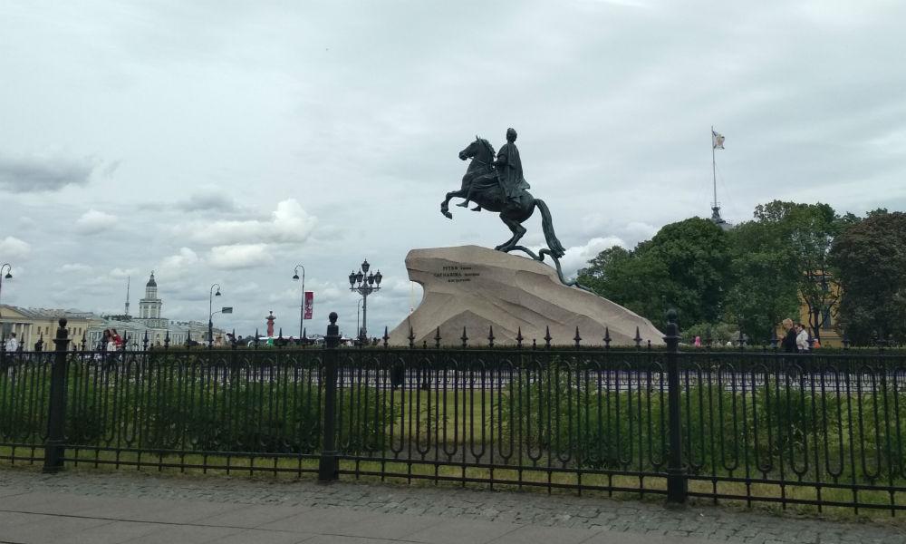 «Медный всадник» - знаменитый памятник Санкт-Петербурга.