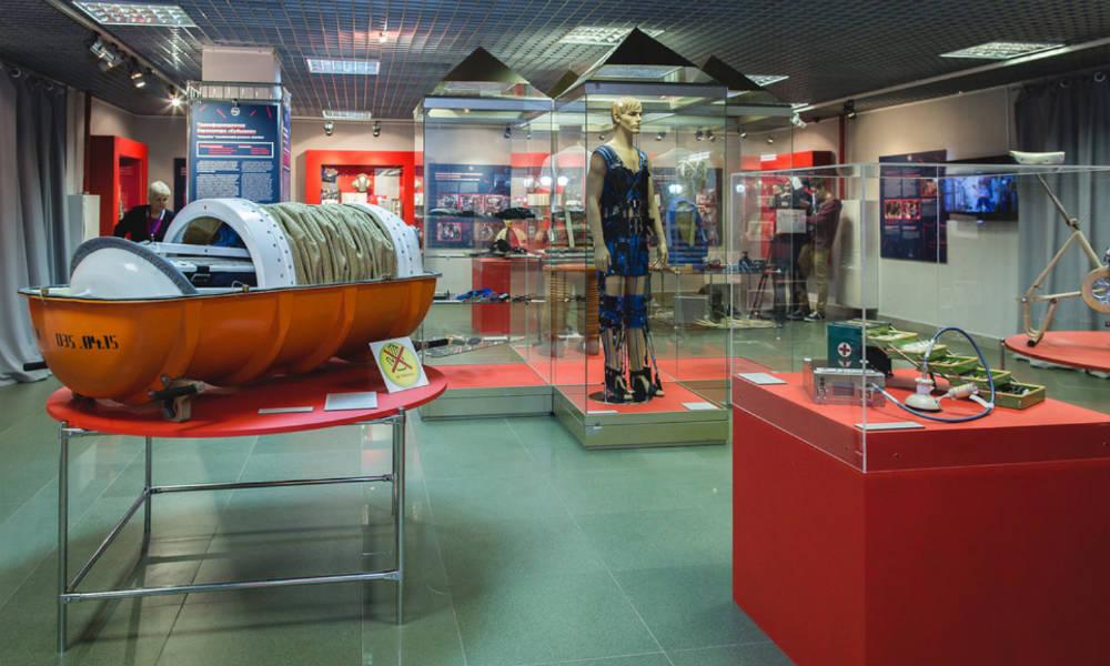 Музей космонавтики в Москве.