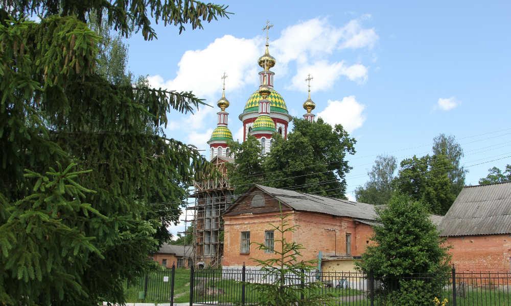 Трегуляевский Иоанно-Предтеченский монастырь в Тамбове.