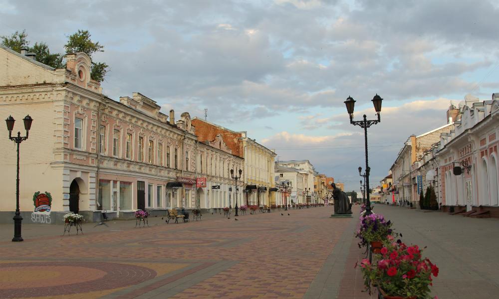 Улица Коммунальная в Тамбове.
