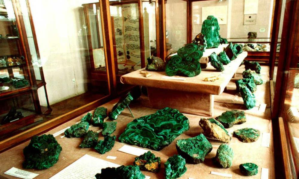 Государственный геологический музей им. В.И. Вернадского в городе Москве.