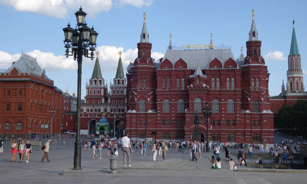 Государственный исторический музей на Красной площади.