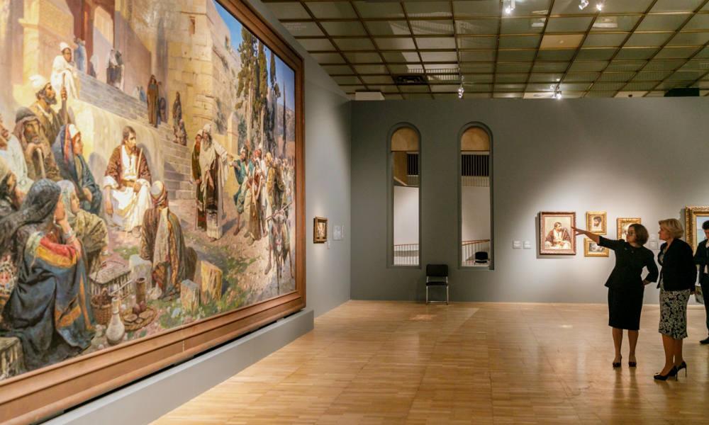 Третьяковская галерея в Москве и её коллекция.