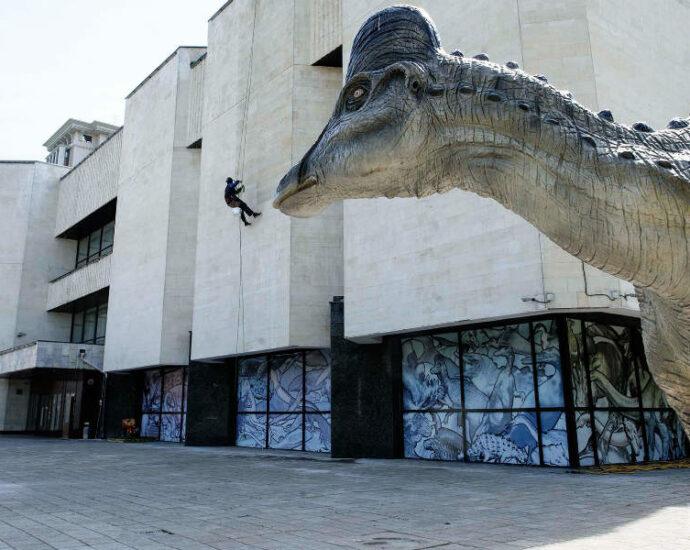Государственный Дарвиновский музей в Москве.