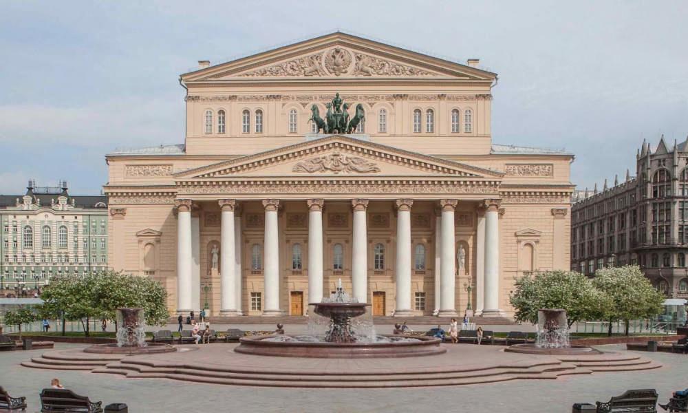 Большой театр как культурный центр Москвы.