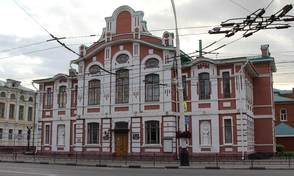 Главное здание музыкального института имени Сергея Рахманинова в Тамбове.