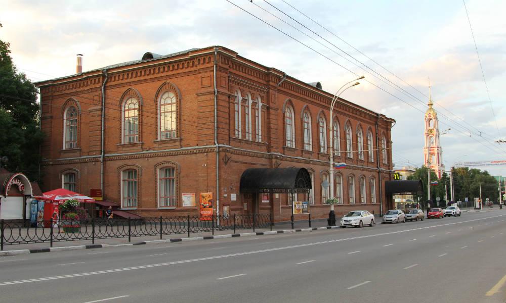 Тамбовская картинная галерея.
