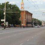 Улица Советская в Тамбове.