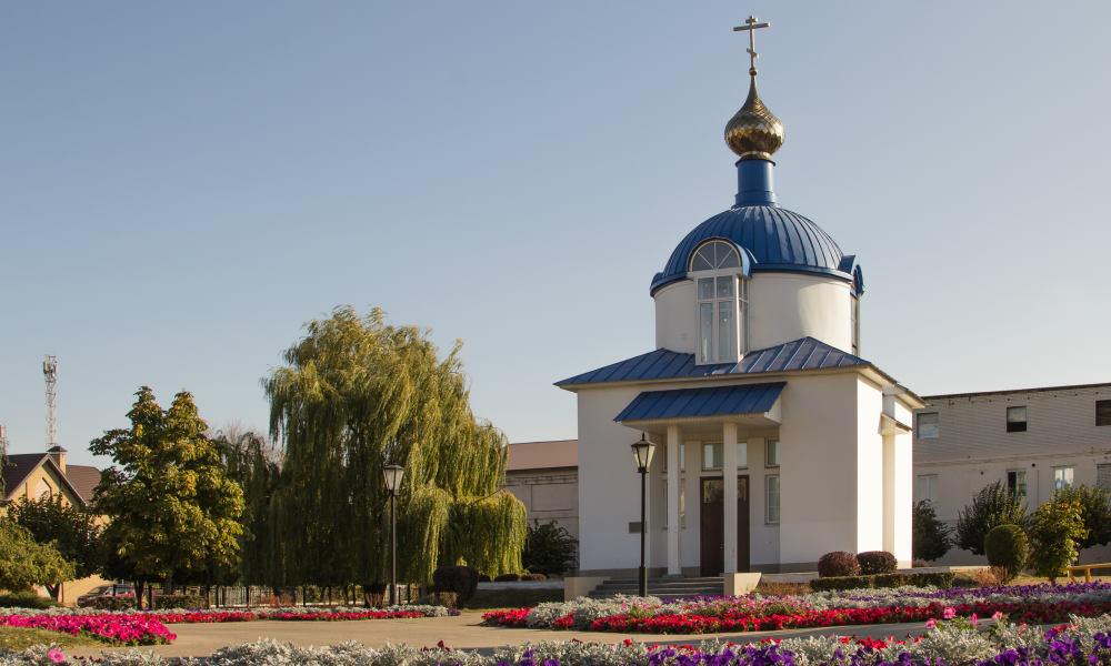 Успенская площадь в Тамбове.