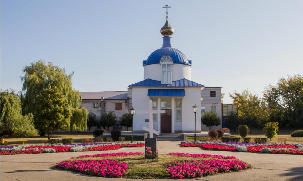 Успенская площадь в городе Тамбове.