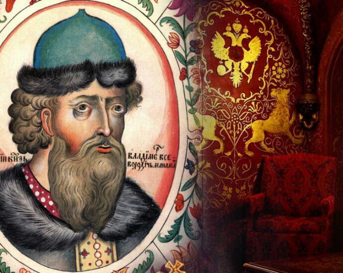 Владимир Мономах - великий князь Киевский.