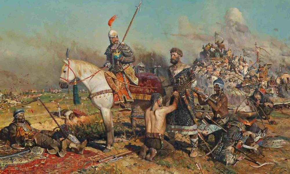 Монголо-татарское нашествие. Битва на Калке.