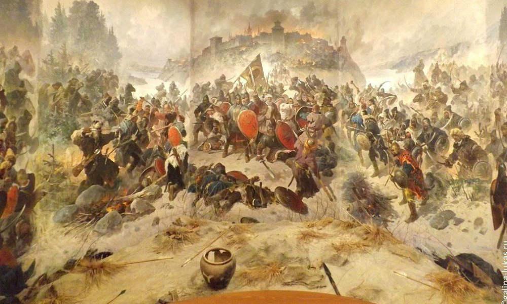 Монголо-татарское нашествие. Оборона Козельска.