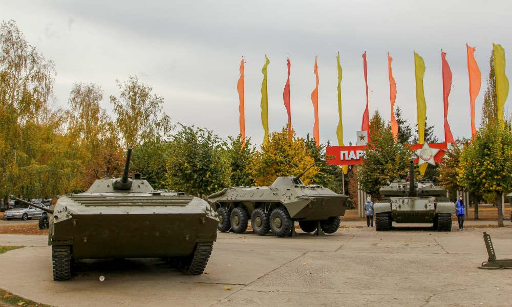 Парк Победы в Тамбове.