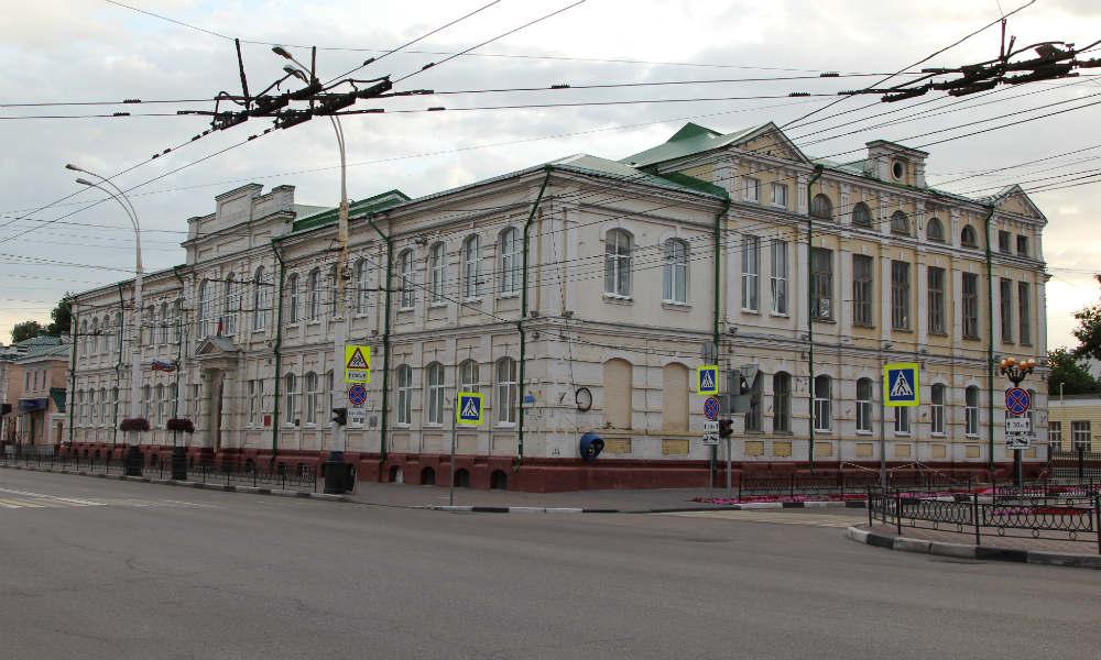 Серафим Саровский и духовное училище в Тамбове.
