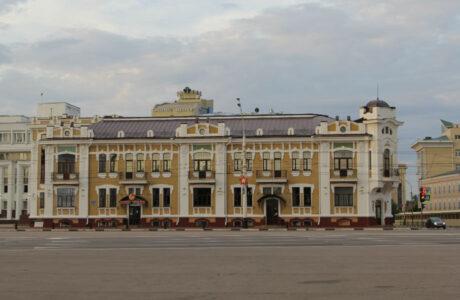 Здание Тамбовской городской думы.