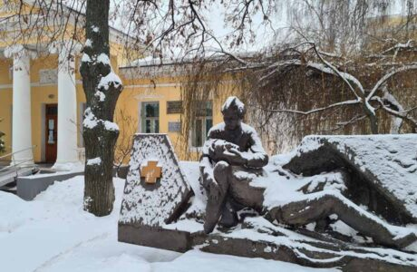 Музей истории медицины в Тамбове. Памятник медикам.