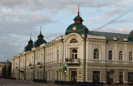 Музейно-выставочный центр Тамбовской области приглашает гостей.