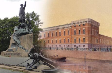 Центральный военно-морской музей Санкт-Петербурга.