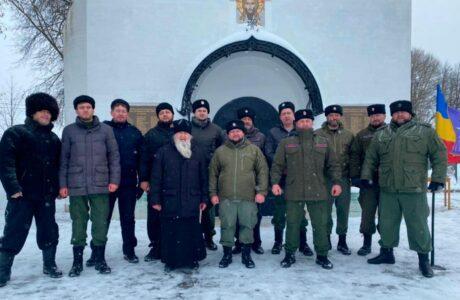 """Казакам МОО """"Союз донских казаков"""" в Наро-Фоминске был вручен нагрудный знак."""