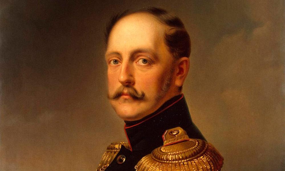Николай I - император Российский.