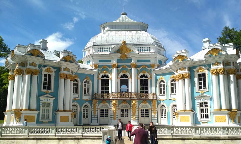 Царское село в Санкт-Петербурге.