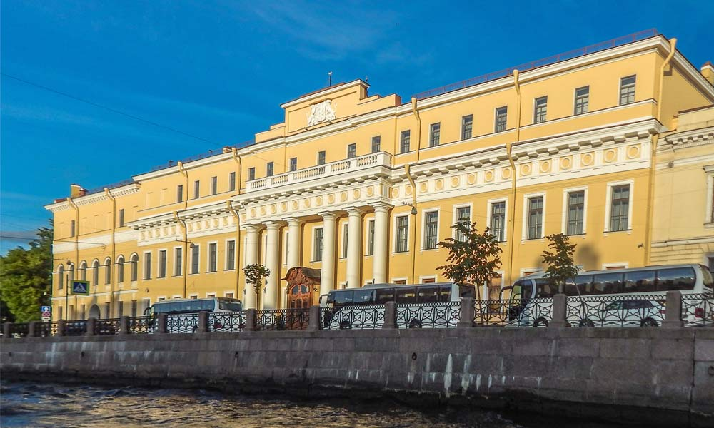 Юсуповский дворец в Санкт-Петербурге.