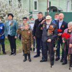 """""""Парад у дома ветерана"""" состоялся в Мичуринске."""